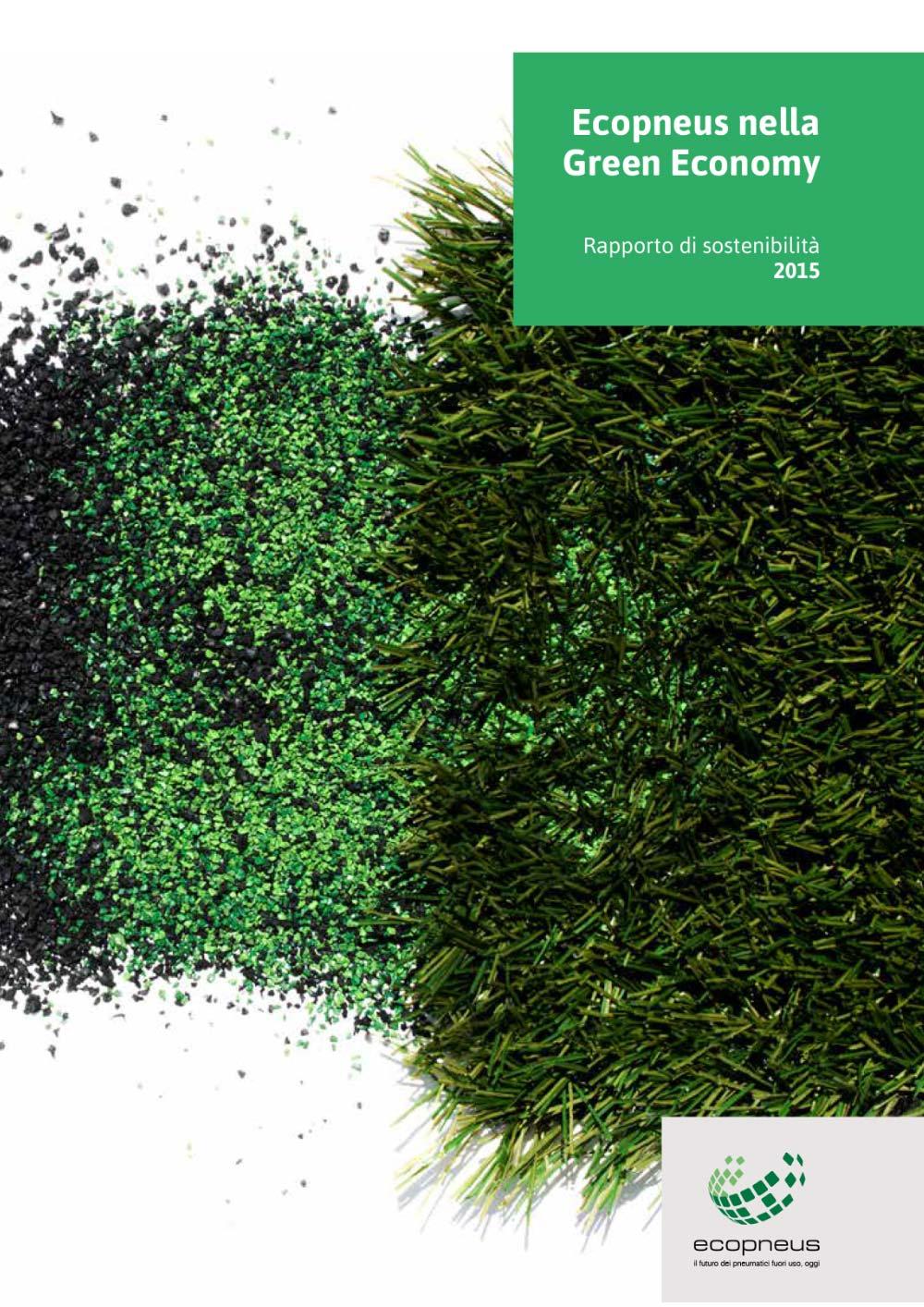 Ecopneus - Rapporto di sostenibilità 2015