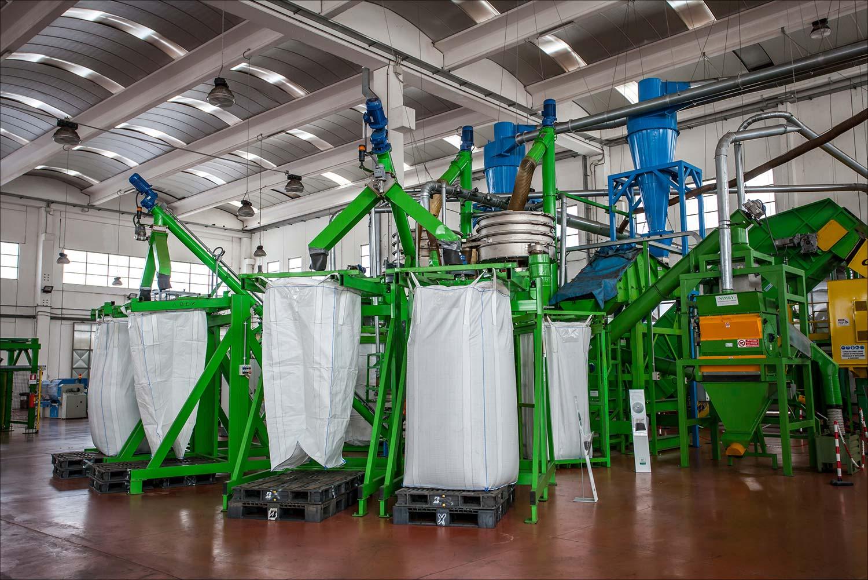 """L'impianto di F.D.G. di Collu durante l'evento """"Impianti Aperti Ecopneus"""", giugno 2016"""