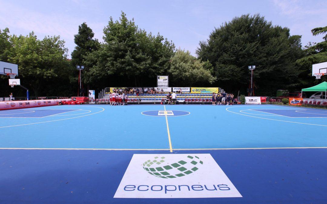 Basket e ambiente si incontrano sul campo in gomma riciclata di Verona