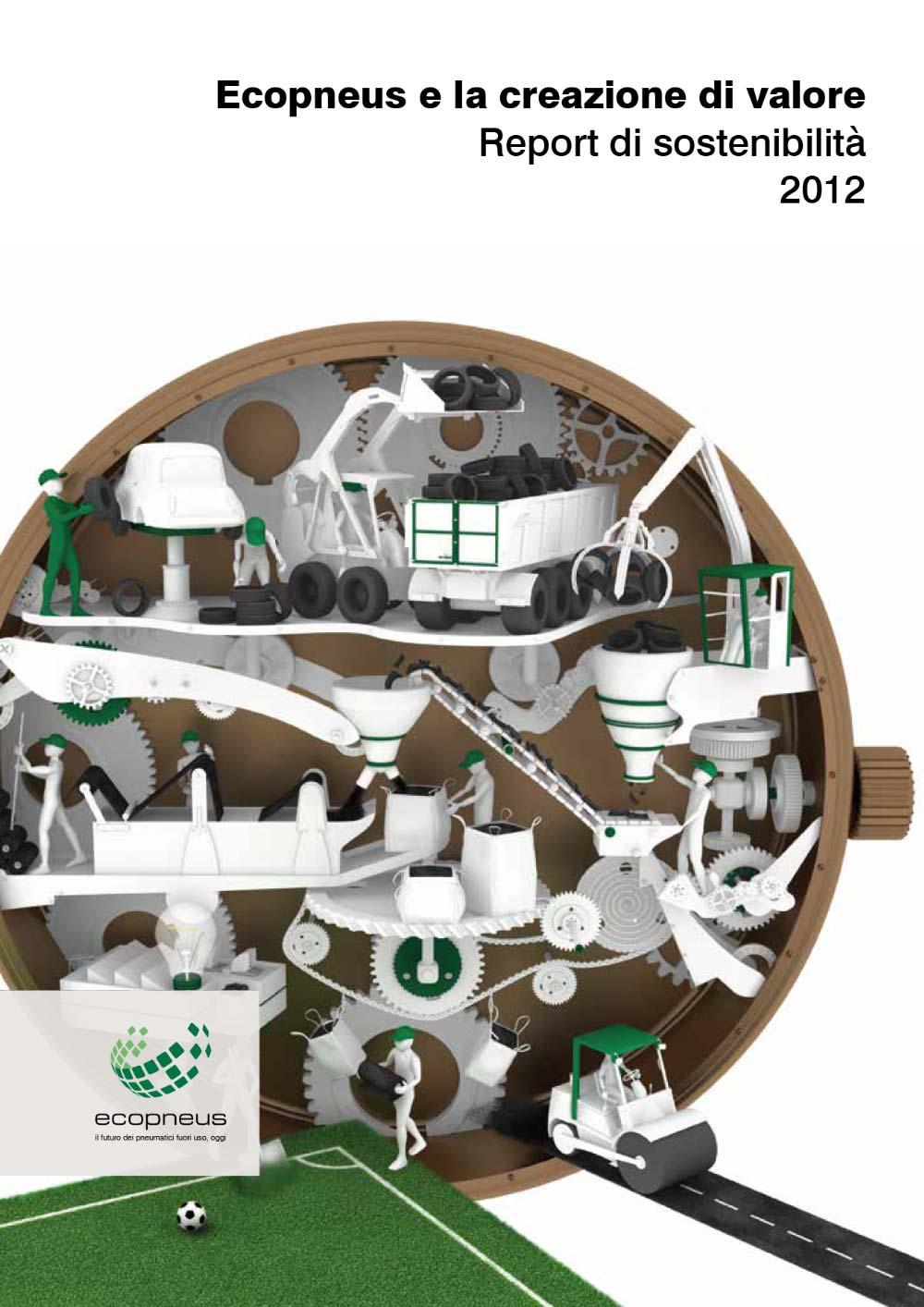 Ecopneus - Rapporto di sostenibilità 2012