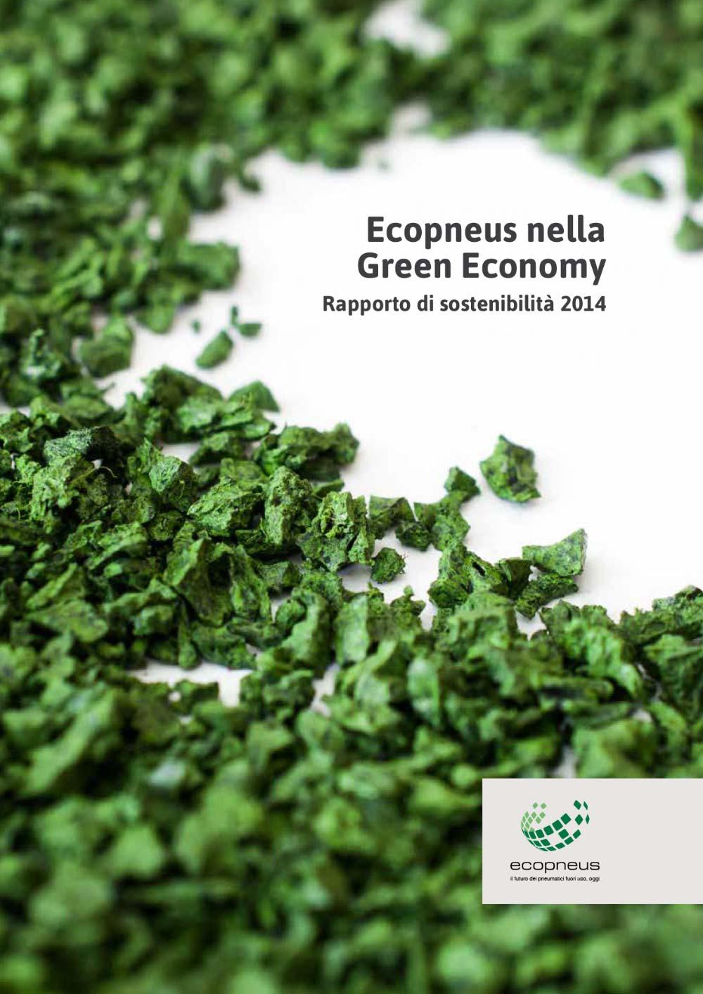 Ecopneus - Rapporto di sostenibilità 2014