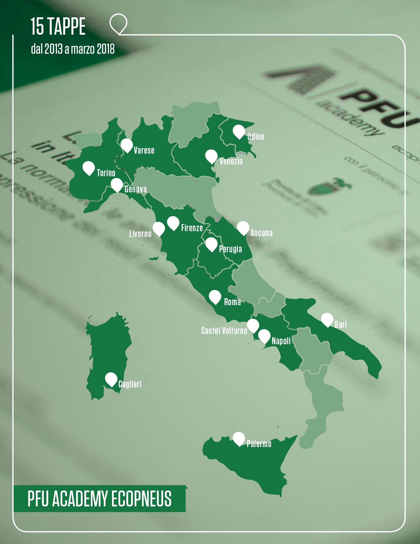 Mappa PFU Academy