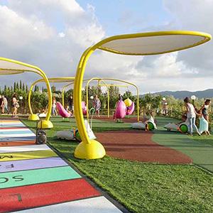 A Festambiente la gomma riciclata è protagonista del divertimento grazie ad Ecopneus!