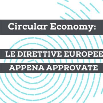 """""""Circular economy: le direttive europee appena approvate"""". Ecopneus sostiene e partecipa all'evento della Fondazione Sviluppo Sostenibile"""
