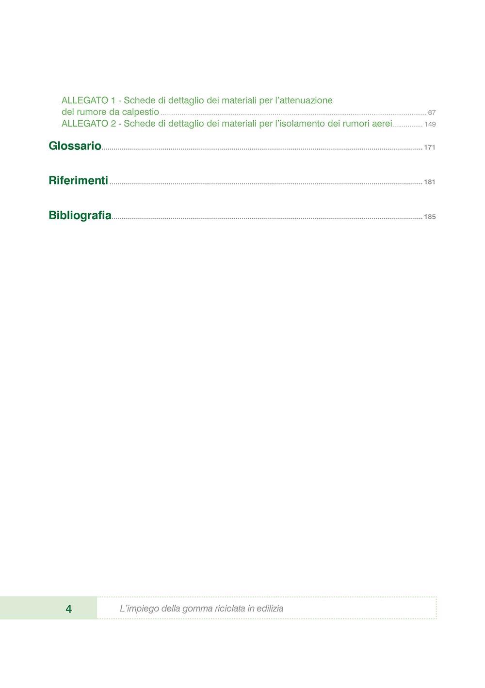 L'impiego della gomma riciclata in edilizia Vol. 3 - Le prestazioni in opera