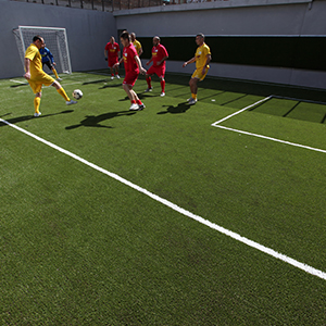 Il valore di un campo di calcio per l'Istituto Penitenziario di Siena