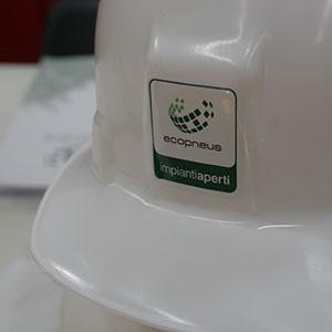 Impianti Aperti Ecopneus arriva a Balvano, Potenza, nell'impianto TRS