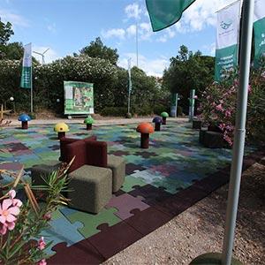 Ecopneus sostiene Festambiente… e la gomma riciclata diventa protagonista del divertimento