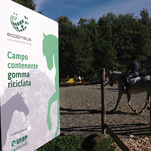 A Todi (PG) il primo centro ippico d'Italia con pavimentazioni in gomma da riciclo da Pneumatici Fuori Uso