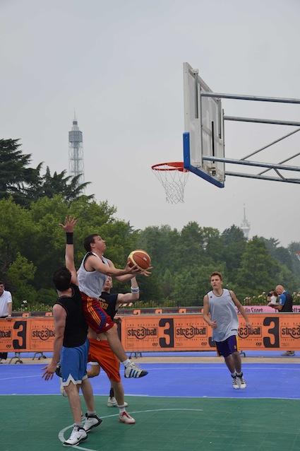 Ecopneus allo Streetball Italian Tour 2012
