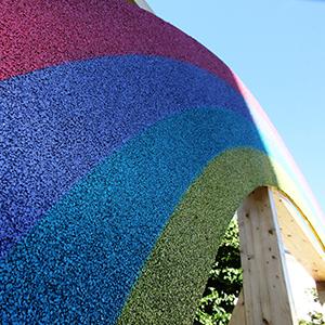 Ecomondo 2016: con Ecopneus la gomma riciclata da Pneumatici Fuori Uso diventa oggetto di design