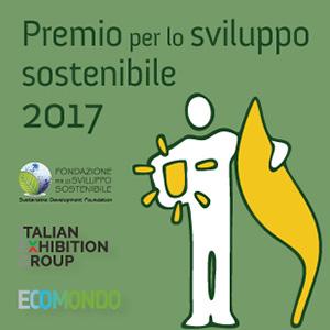 Premio Sviluppo Sostenibile 2017: tempo fino al 17 luglio per inviare la propria candidatura