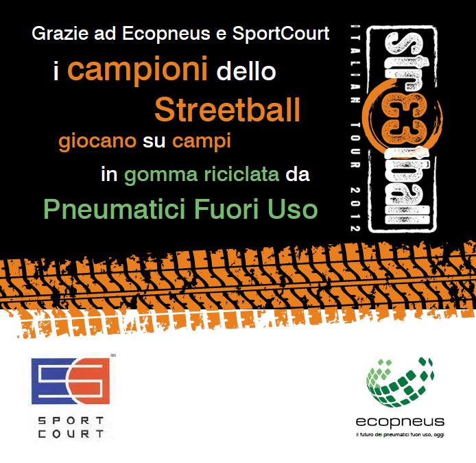 Il basket si gioca su gomma riciclata: arriva a Salerno lo Streetball