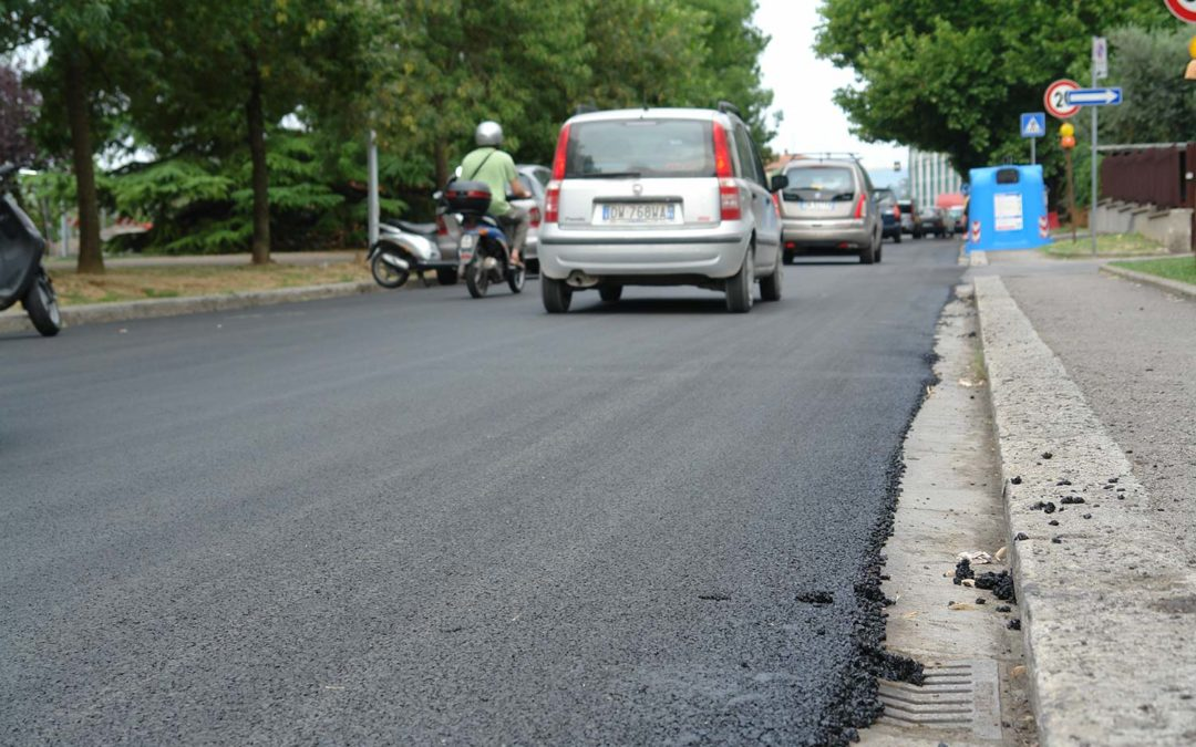 Recycled rubber modified Asphalts: The Italian answer to noise pollution