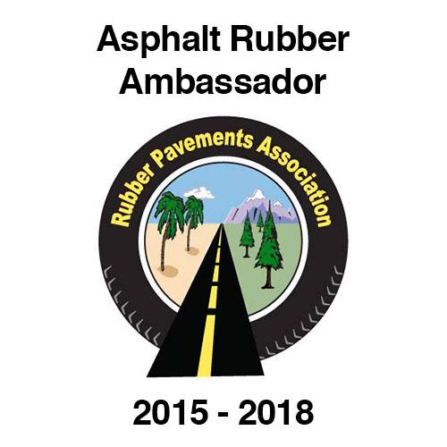 Asphalt Rubber Ambassador 2015-2018