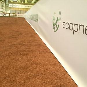 Ecopneus e UISP insieme a FieraCavalli: il benessere del cavallo poggia su un innovativo campo in gomma riciclata