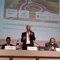 La Variante di Canali a Reggio Emilia: una strada speciale