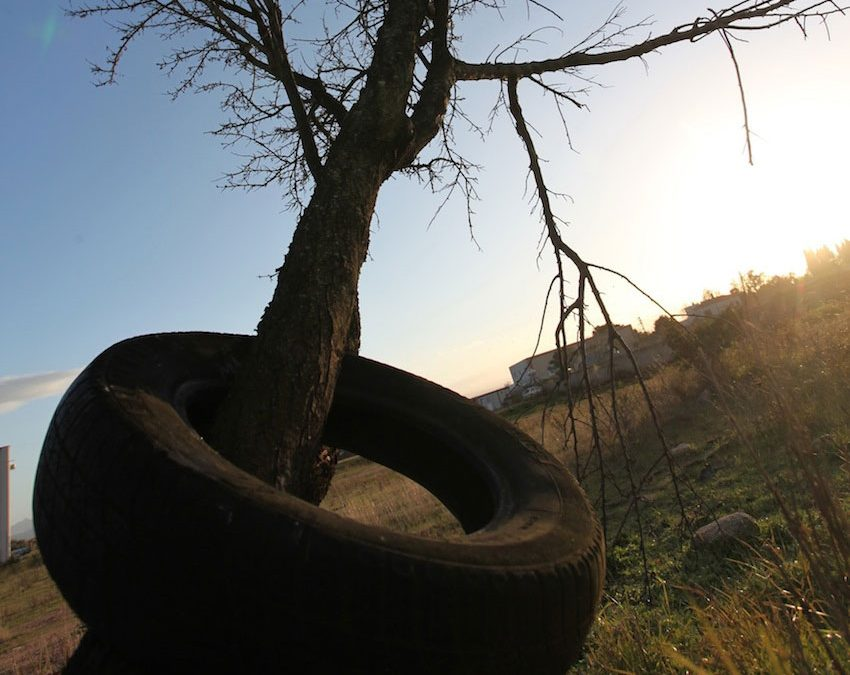 """Next Monday starts in Scisciano the emptying of the """"tyres' cemetery"""": 5,000 End-of-Life Tyres tons will be removed to  recover the area"""