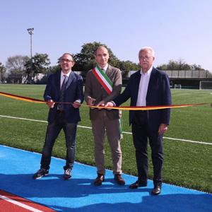 A Roma il primo centro sportivo con campi e piste in gomma riciclata da Pneumatici Fuori Uso