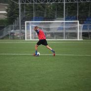Studio Melete: nessun rischio sui campi da calcio in gomma riciclata