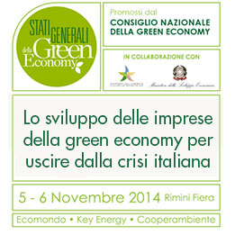 Ecopneus at the States General of the Green Economy 2014, in Rimini on November 5