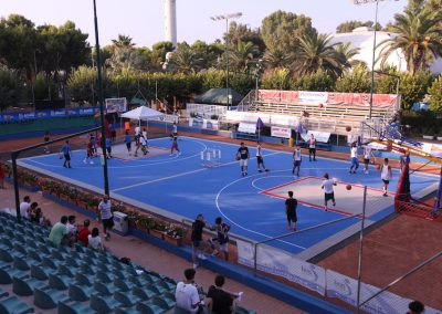 Tyrefield basket a S. Benedetto del Tronto