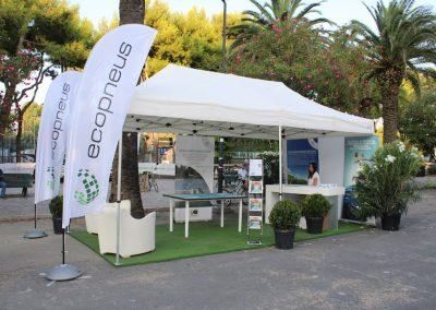 L'infopoint Ecopneus a S. Benedetto del Tronto