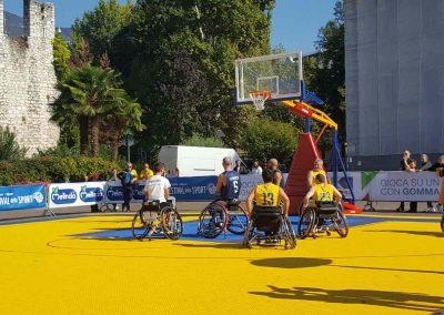 I ragazzi dell'Aquila basket di Trento