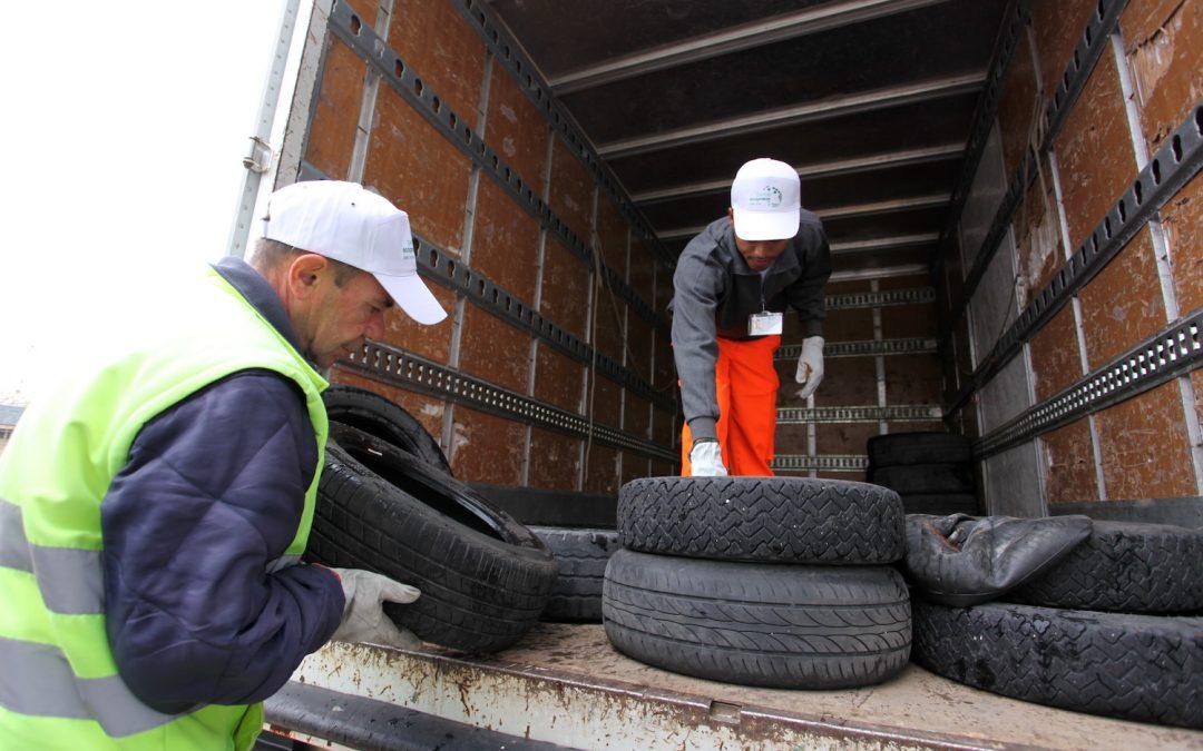 Altre 11.000 tonnellate di Pneumatici Fuori Uso saranno raccolte da Ecopneus oltre il proprio target di legge