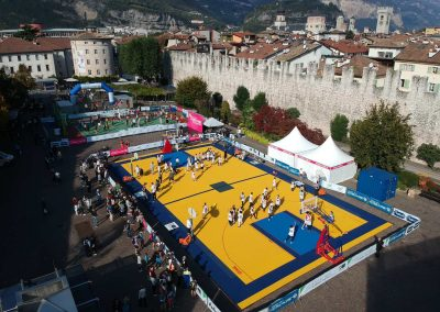 I campi Tyrefield basket e volley