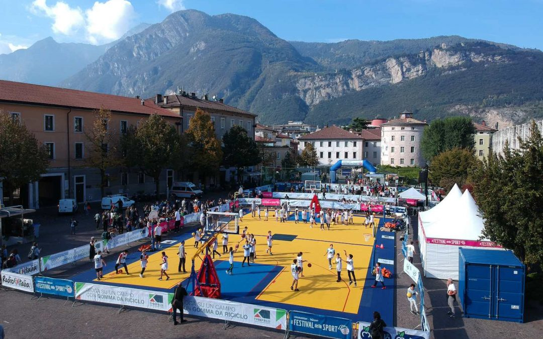 Top-performing play grounds at the Sports Festival thanks to recycled rubber