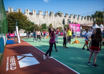 Le attività sul campo Tyrefield volley