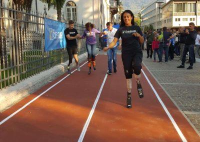 La pista di atletica al Festival dello Sport di Trento