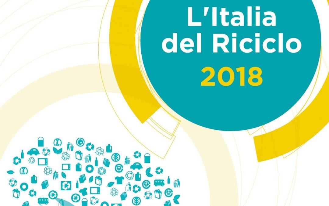 """Ecopneus sostiene """"L'Italia del Riciclo 2018"""""""