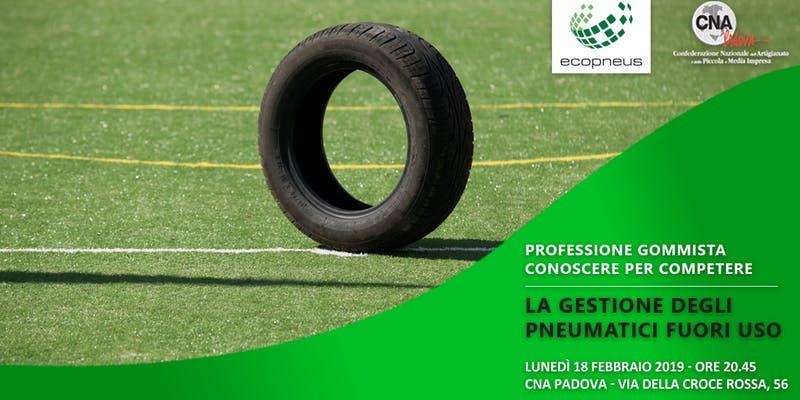 Incontro CNA Padova-Ecopneus: la gestione dei PFU