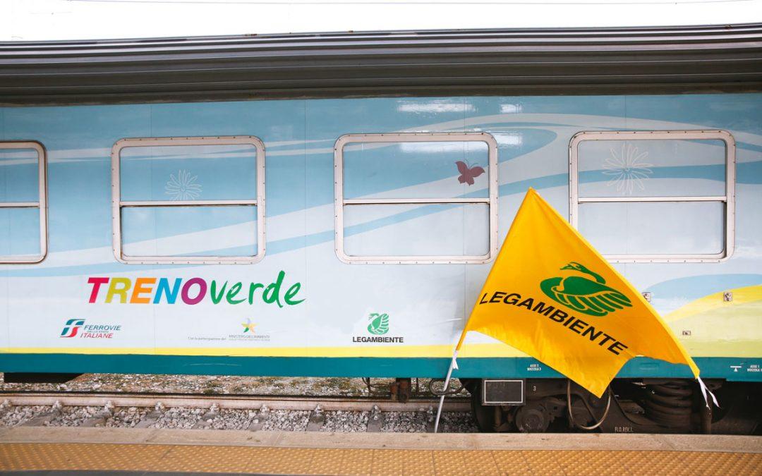 Riparte il TrenoVerde di Legambiente e Ferrovie dello Stato