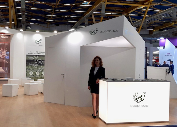 2019 Autopromotec: a virtual journey in ELT recycling at the Ecopneus stand