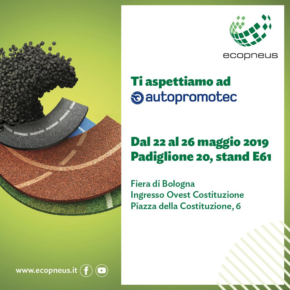 Ecopneus ad Autopromotec