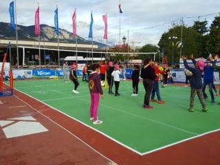 Tyrefield volley
