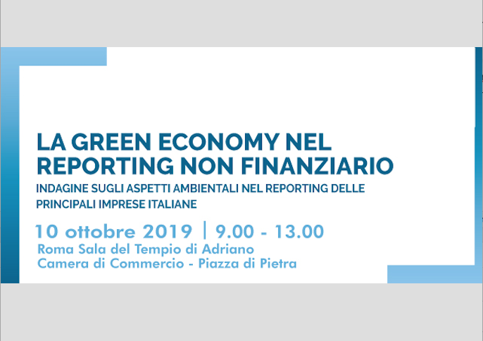 """The green economy in non-financial reporting"", convention organised by the Foundation for Sustainable Development"