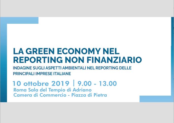 """""""La green economy nel reporting non finanziario"""", convegno organizzato dalla Fondazione per lo sviluppo sostenibile"""