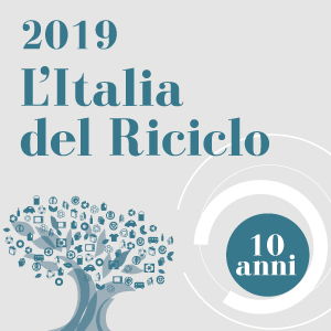 10 years of L'Italia del Riciclo (Recycling in Italy): Ecopneus is among its supporters also this year