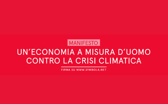 The Manifesto against climate change for the future of our country and of the Planet