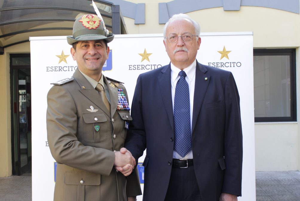 The Italian Army chooses recycled rubber: the new gym of the Barracks of the Logistics Command has been inaugurated in Rome