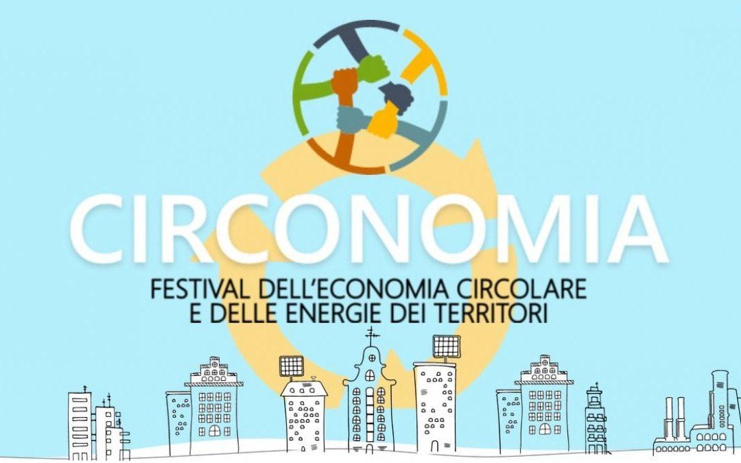 Ecopneus Partner della V° edizione di Circonomia,  il Festival dell'Economia Circolare e delle Energie dei Territori
