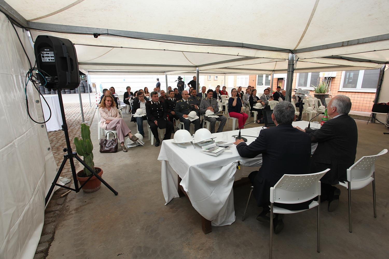 """L'impianto di Centro Rottami durante l'evento """"Impianti Aperti Ecopneus"""", maggio 2014"""