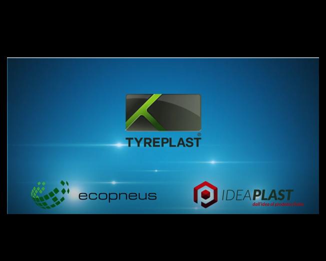 Tyreplast: da Pneumatici Fuori Uso e plastica riciclata arrivano nuovi materiali circolari per l'industria 4.0