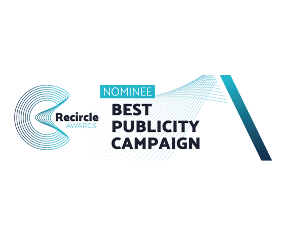 """Ecopneus selezionataper ilRecircle Awards,nella categoria""""BEST PUBLICITY CAMPAIGN"""", per la campagnapubblicitaria """" La più grande invenzione dopo la ruota"""""""
