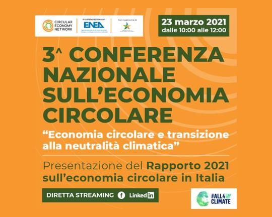 Economia circolare e neutralità climatica: Circular Economy Network presenterà domani in diretta streaming il Rapporto annuale sull'economia circolare in Italia