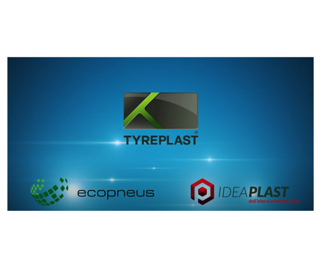 Tyreplast: the new materials for industry 4.0 come from End-of-Life Tyres and recycled plastic